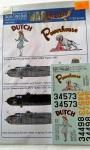 KW 32044 B-25H-5 DUTCH,Powerhouse