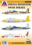 AV 4009 Fouga Magister over Israel