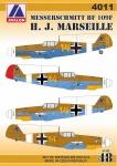 AV 4011 Messerschmitt BF 109F H.J.Marseille