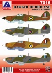 AV  7016 Hawker Hurricane Nationals marking