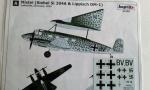 93190 Mistel/Siebel Si 204A,Lippisch DM-1/