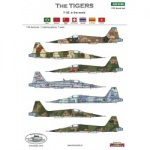 ACD 32002  The Tigers F-5E in the world
