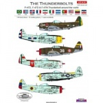 ACD 48031 P-47D/N IN THE WORLD