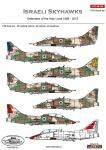 ACD 48023  Israeli Skyhawks - Defendersvof Holy Land 1968 - 2015