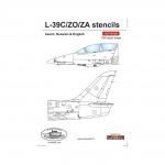 ACD 48025  L-39 C/ZO/ZA stencils