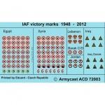 ACD 72003 IAF victory marks