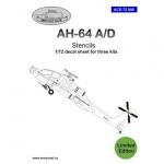 ACD 72008  AH-64A stencils
