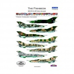 ACD 72025  Mig 21 Fishbeds R, MA, MF, bis in the World