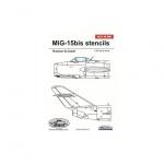 ACD 48006 Mig-15 bis stencils