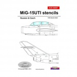 ACD 48007  Mig-15 UTI stencils