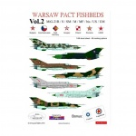 ACD 48013  Warsaw Pact Fishbeds MiG-21R/S/SM/M/MF/bis/US/UM Vol.2