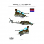 ACD 48015  Mi-24V Czech Experimental Camouflage