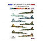 ACD 48016  The Freedom Fighters F-5A/F-5B/SF-5A/SF-5B & CF-5A in the world