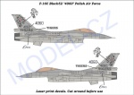 MCZA 4803 F-16C Block52 Polish Air Force,,Tigers 4060