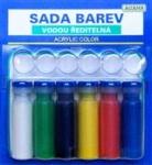 1050 Sada barev acryl matná /acryl color/